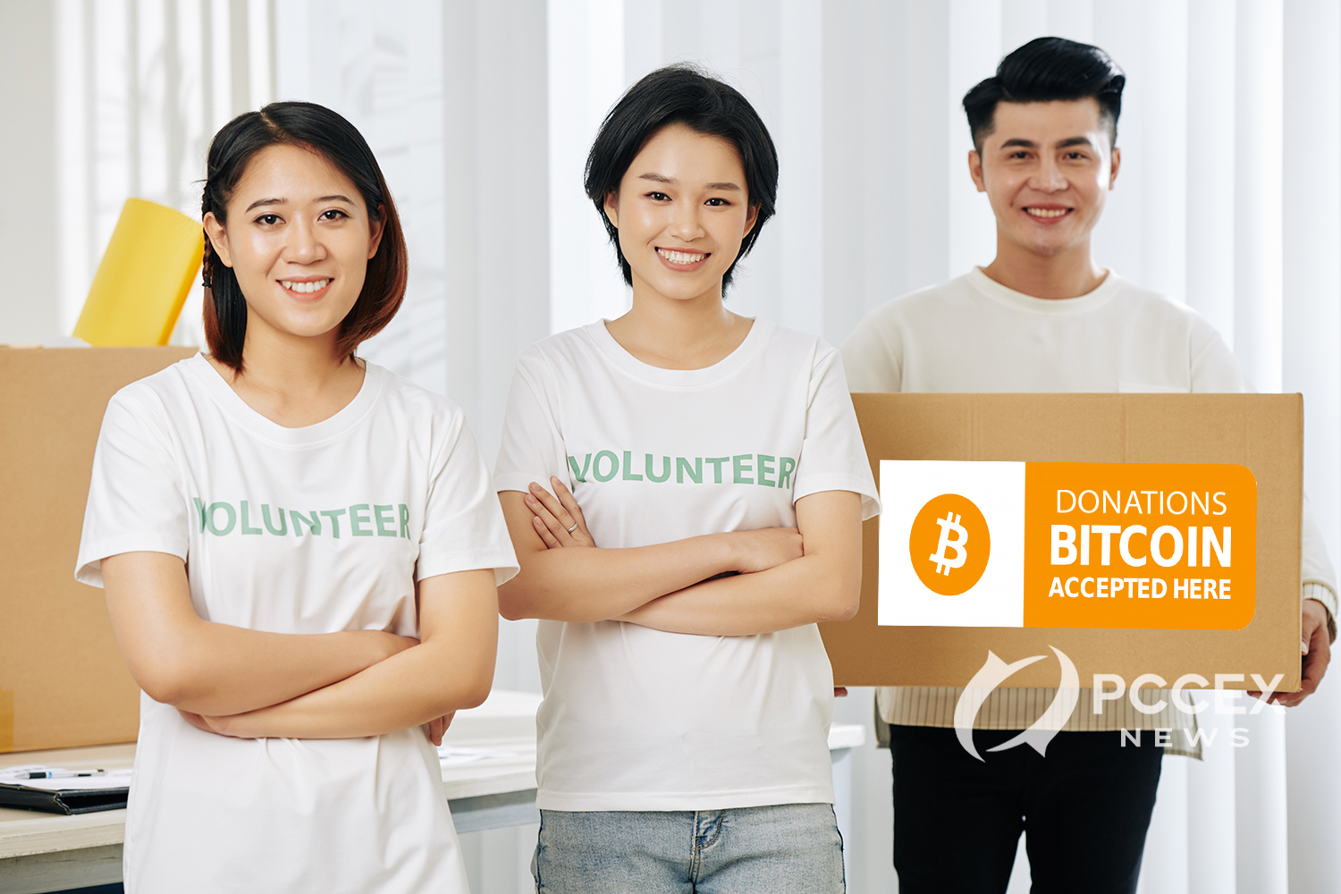 Charities are turning to Bitcoin Donation
