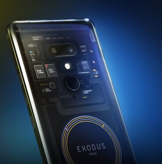 HTC Exodus mining