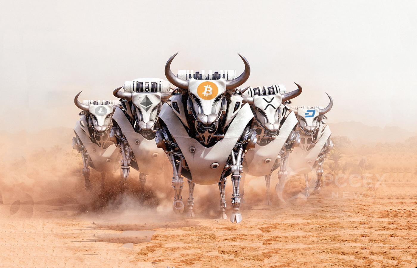 Bloomberg: 2017 Like Bitcoin Bull Run