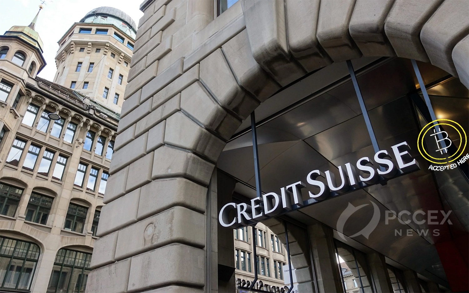 Bank giant Credit Suisse expresses support for Bitcoin
