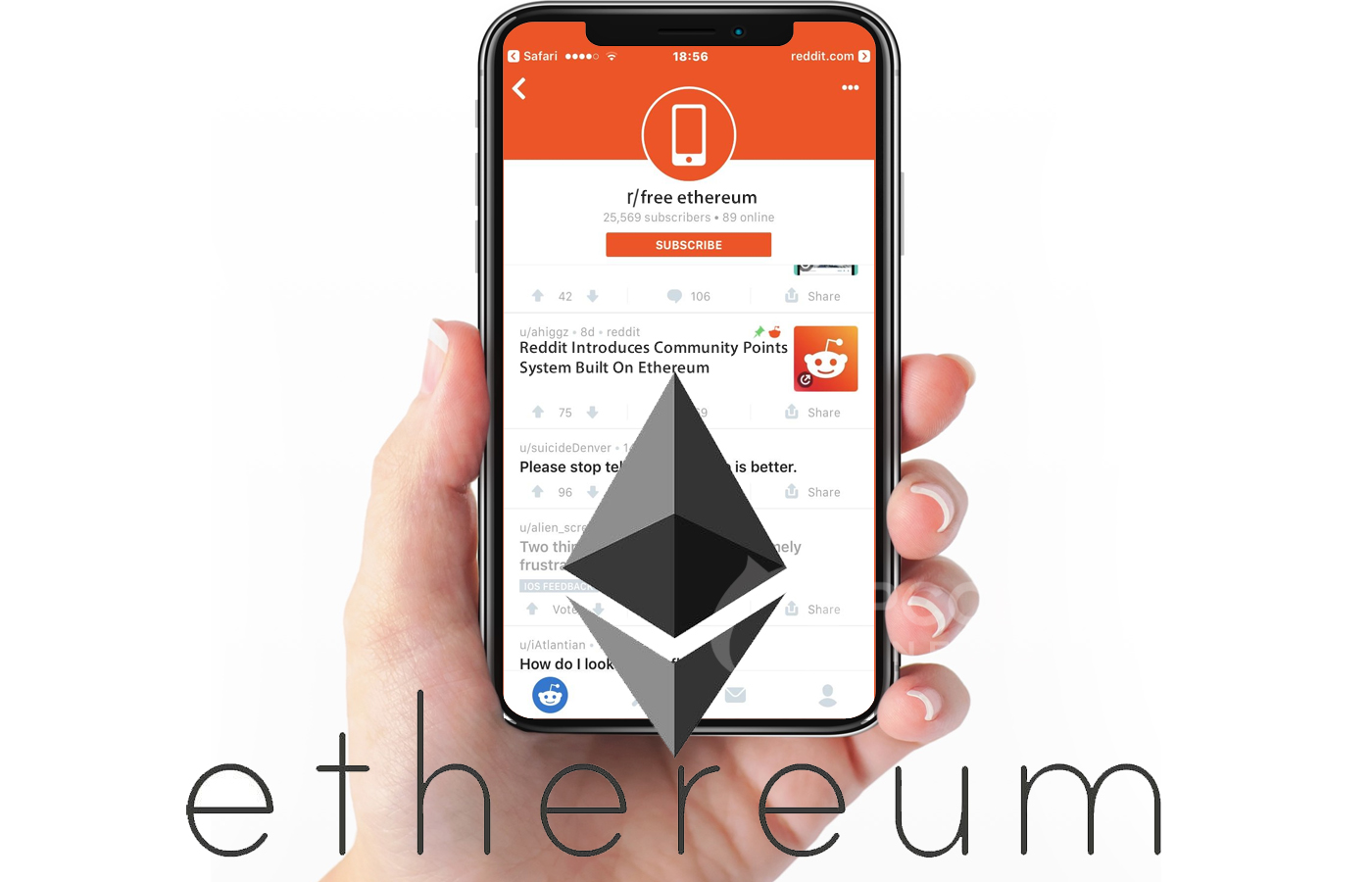 Reddit Introduces Community Points System Built On Ethereum