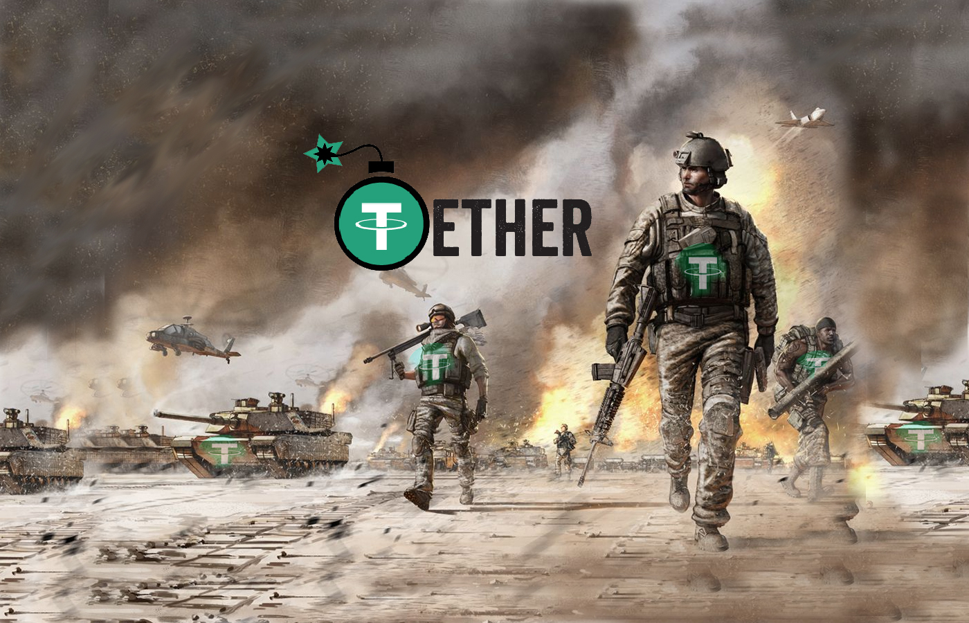 Bloomberg Says Tether Poised To Overtake Ethereum
